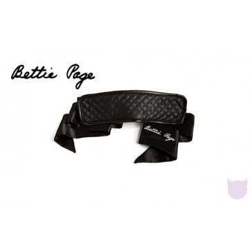 Bettie Page Bad Girl Blackout Blindfold