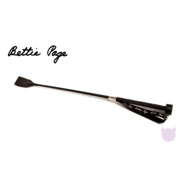 Bettie Page Teasearama Leather Riding Crop