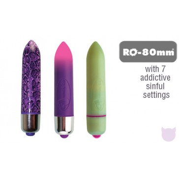 Limited Edition Rocks Off RO-80 Bullet